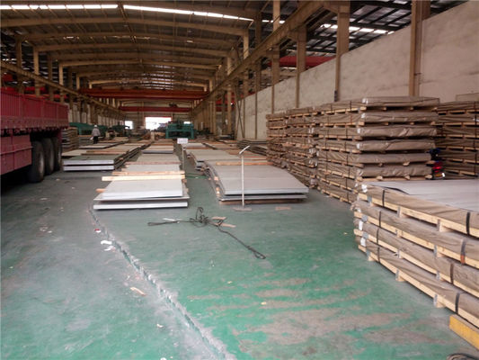 China 400 Series 0.5 mm Cold Rolled Stainless Steel Sheet Metal Mile Edge factory
