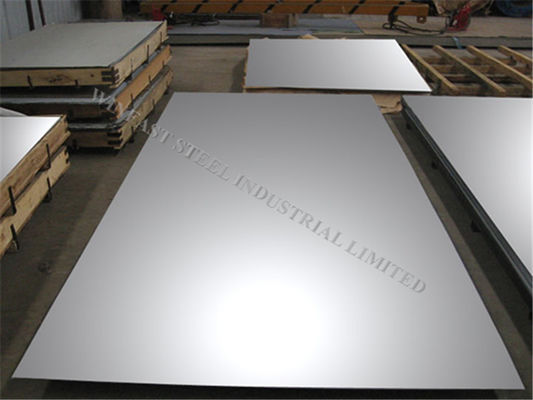 China 440C Grade Polished Stainless Steel Sheet Metal 4X8 With Cold Rolled factory