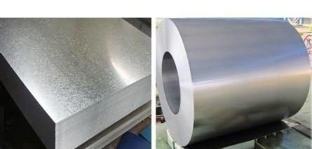 Full Hard Spangle Hot Dipped Galvanized Steel Sheet ASTM A653 / Q195 / SGC490
