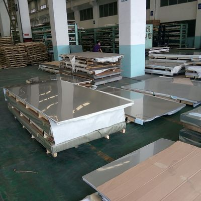 China TISCO Cold Rolled 445 Stainless Steel Sheet Metal / 0.4 - 3.0mm Thickness 2B With 4 Feet Width factory