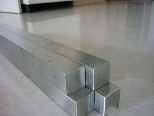 Cold Drawn Bright Polishing Stainless Steel Flat Bar / Square Bar Grade 304 316L ASTM A276