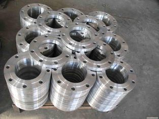 China ASME B16.5 2205 2507 Welding Neck Stainless Steel Pipe Flange Dulplex Steel S32750 S31803 factory