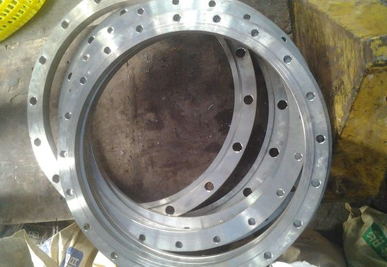 China 316L 304 Stainless Steel Welding Neck Flanges / WN Flange Water and Chemical Industrial factory