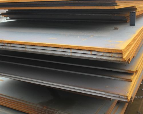 China ASTM JIS GB EN DIN Standard S355JR Hot Rolled Carbon Steel Plate 60 - 200mm Fire Cutting factory