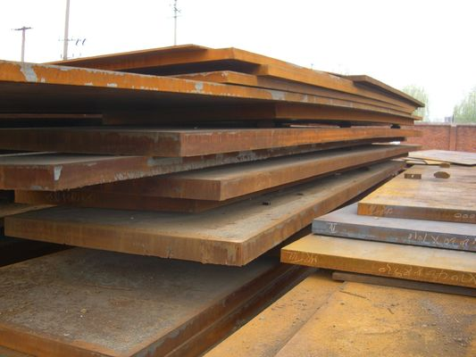 High Strength Hot Rolled Steel Sheet Quenched and Tempered Structural Steel Plate