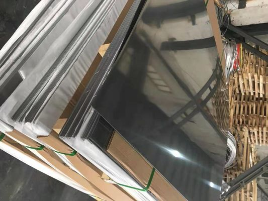 AISI304L Stainless Steel Sheets 4x8 Cold Rolled 0.6 - 3.0mm 2B SS Sheet