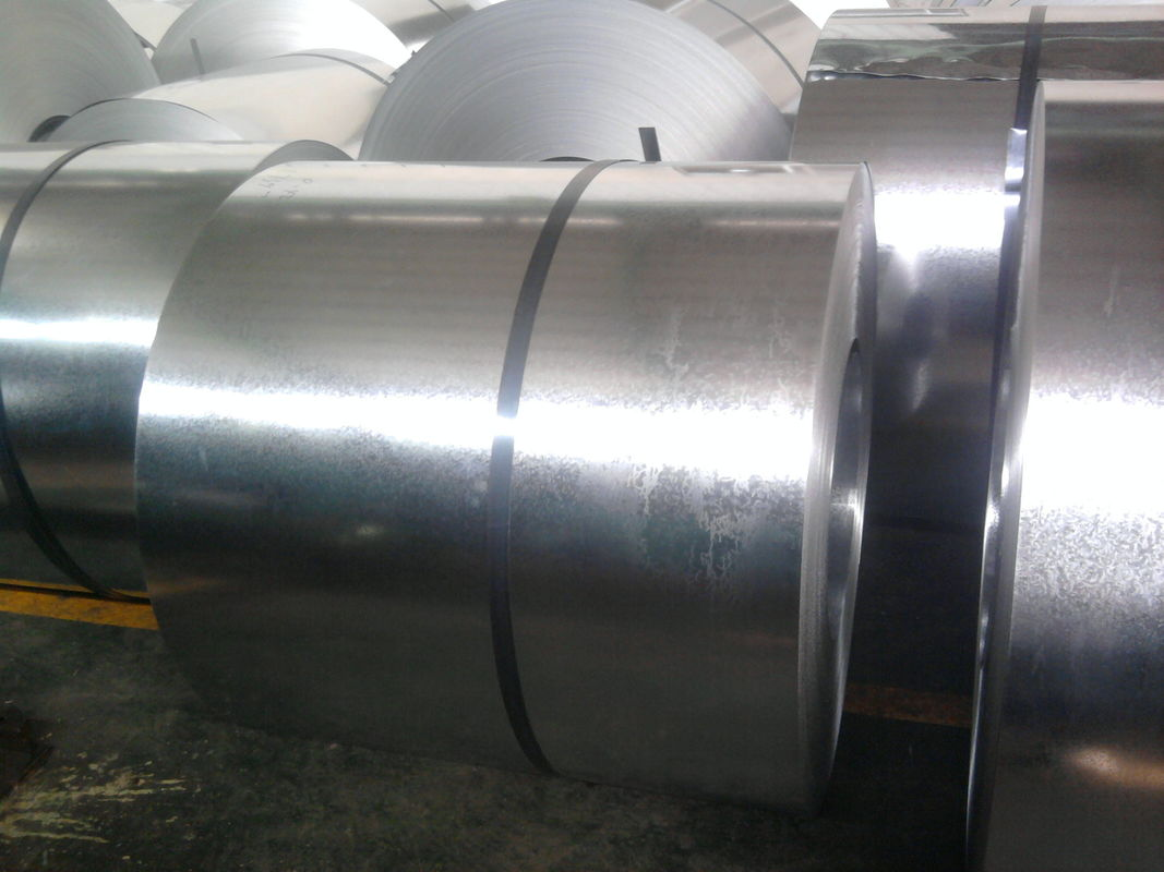 Regular Spangle / Zinc Coating Hot Dip Galvanized Steel Coils Cold Rolled supplier