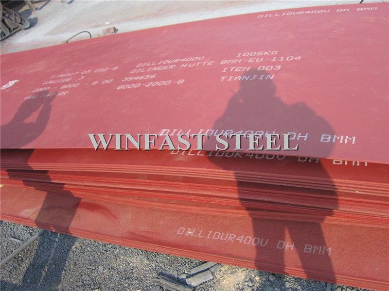Hardox 500 Abrasion Resistant Hard Wearing Steel Plate En