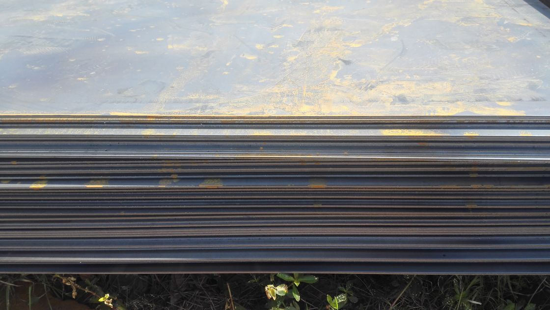 ABS DNV CCS GL LR Hot Rolled Steel Plate DH36 / EH36 Marine Steel Plate supplier
