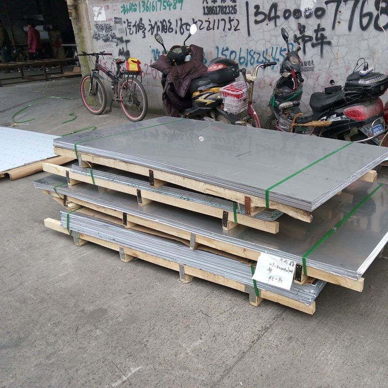 Slit Edge Cold Rolled Stainless Steel Sheet Grade 444 2B Surface With Small Tolerance supplier