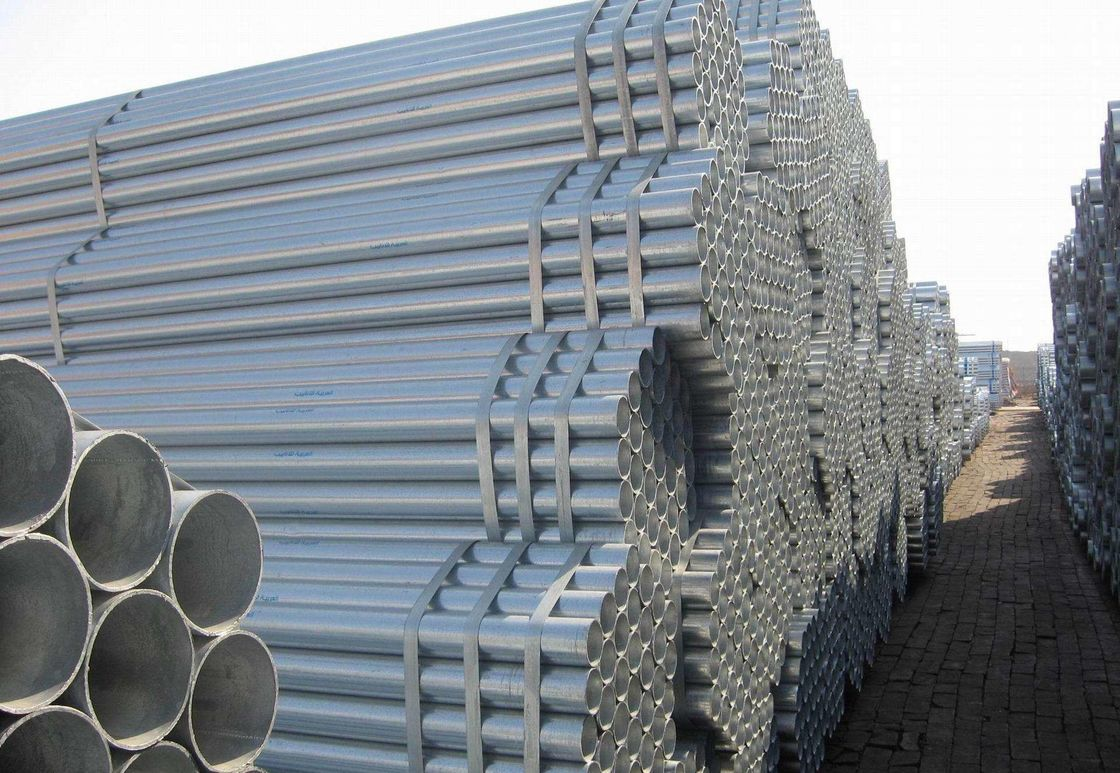 ASTM Standard Galvanized Carbon Steel Pipe / Galvanized Steel Seamless Pipe supplier
