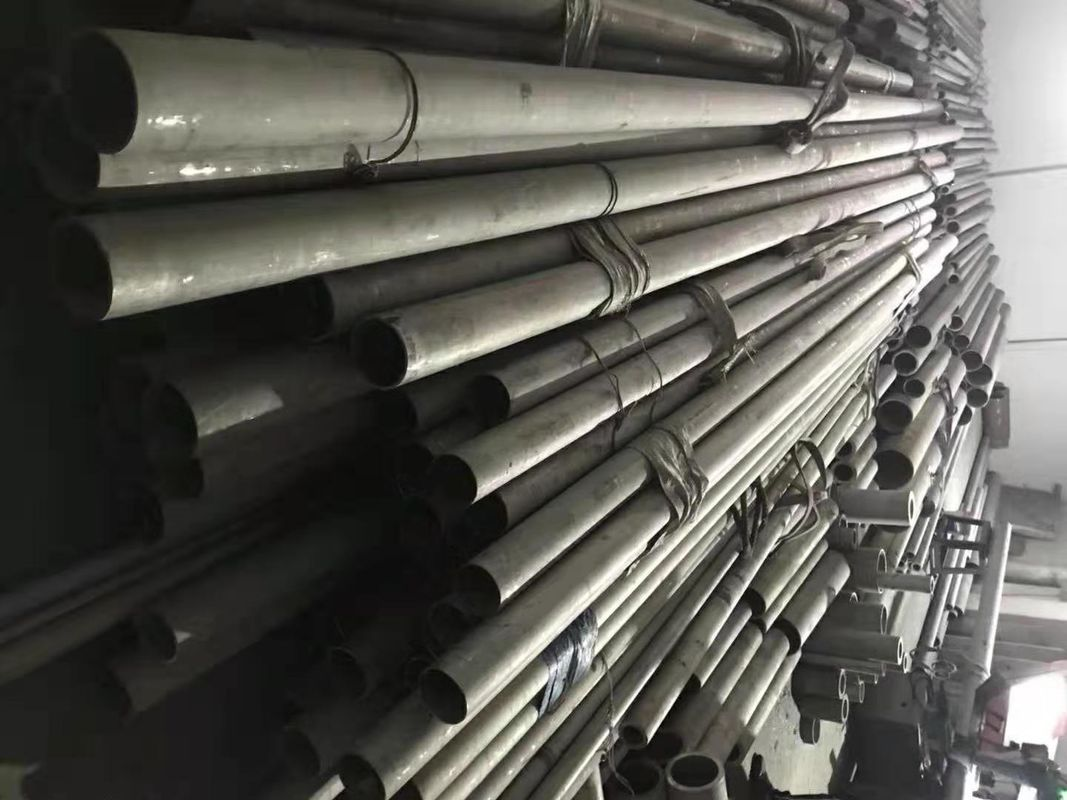 ISO Super Austic Seamless Stainless Steel Pipe 254SMO / 1.4547 / S31254 supplier