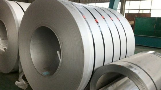 China ASTM EN JIS 201 Secondary Stainless Steel Coils 1500mm Width distributor