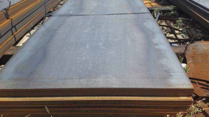 ABS DNV CCS GL LR Hot Rolled Steel Plate DH36 / EH36 Marine Steel Plate