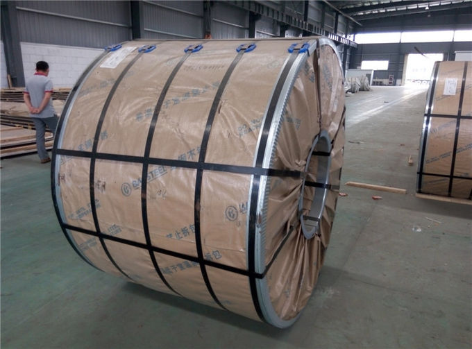 Cold Rolled 2MM Stainless Steel Coils Sheet Grade 409 JIS Standard