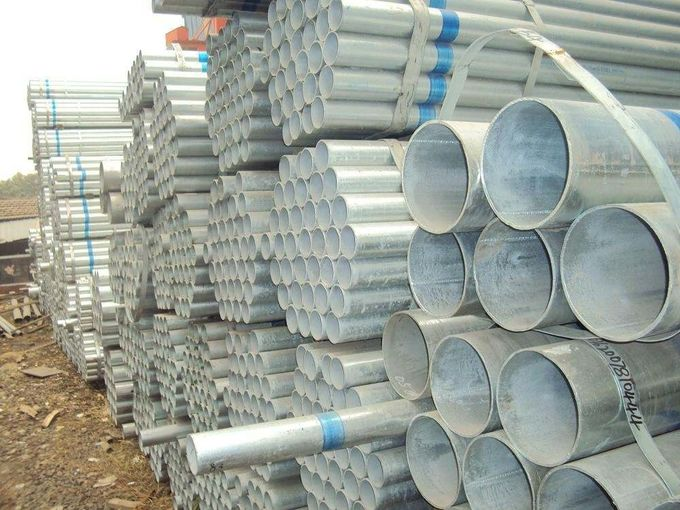 ASTM Standard Galvanized Carbon Steel Pipe / Galvanized Steel Seamless Pipe
