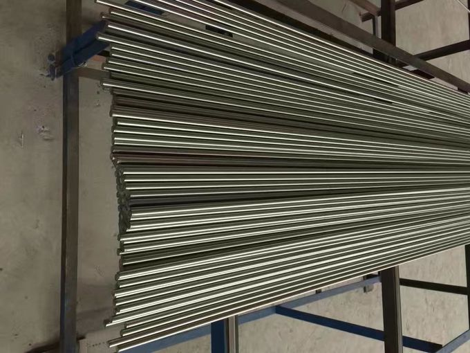 Grade 420 Stainless Steel Round Bar Heat Treatment Solution and Aging